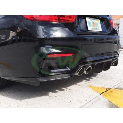 BMW M3 | M4 [F80 F82 F83] Dyfuzor Zderzaka Tylnego DTM Style