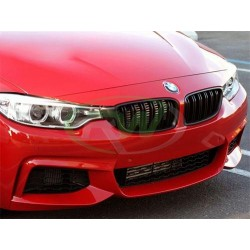 BMW M3 | M4 [F80 F82 F83] Atrapa Chłodnicy - Czarny Mat